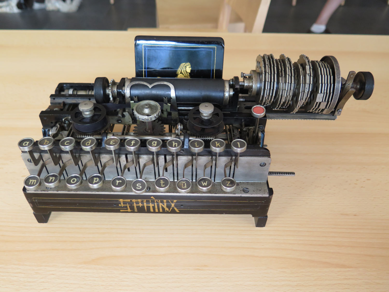 Sphinx Verschlüsselungsmaschine